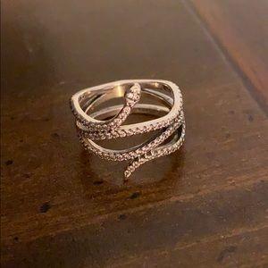 New Pandora Retired Snake Ring
